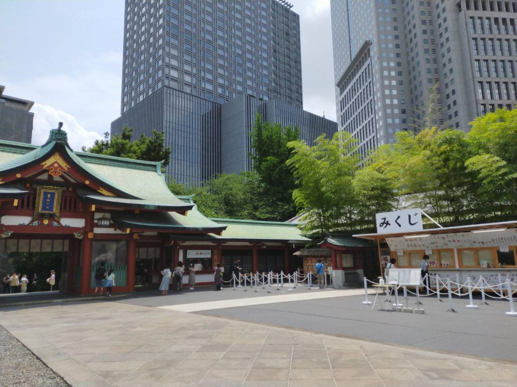 日枝神社 都会のど真ん中の神社